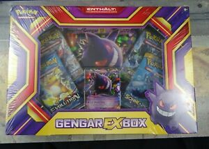 Pokemon Pokémon Gengar Ex Box  Sammel Karten 29025941 NEU OVP