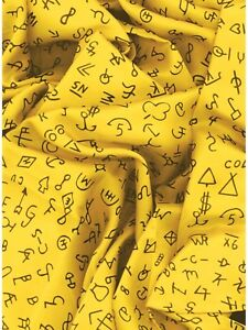d56638388a0ba Yellow with Black Brands Western Cowboy Silk Wild Rag Buckaroo Scarf ...