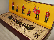 Britains 8808 The Royal Marine Light Infantry Box Set of 6 Pieces in 54MM