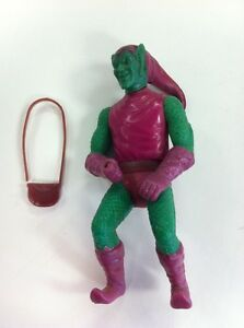 Vintage Mego Comic Action Heroes Loose Green Goblin 3 3/4 Figurine Avec Sacoche!