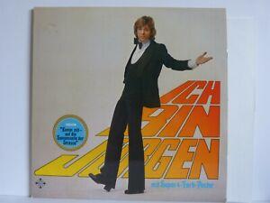Juergen-Marcus-Vinyl-LP-Ich-bin-Juergen-mit-Riesenposter