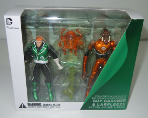 Guy Gardner vs Larfleeze DC Injustice Green Lantern Con Exclusive 2-Pack NEW