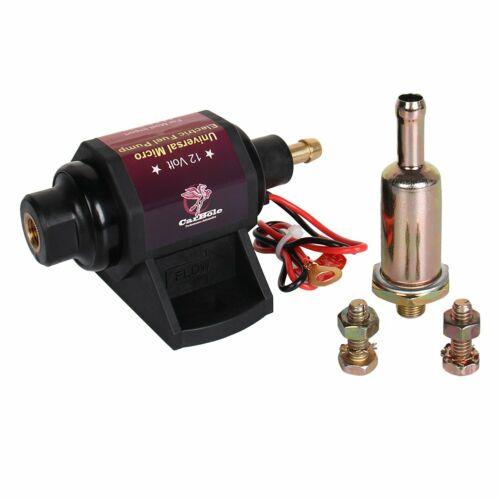 28 GPH Self-Priming Gasoline 42S 12Volt Universal Electric Fuel Pump 2-3.5 PSI