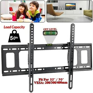 TV Wall Bracket Mount Fixed For 37 42 50 50 60 65 70 inch 3D TVs LCD LED Plasma