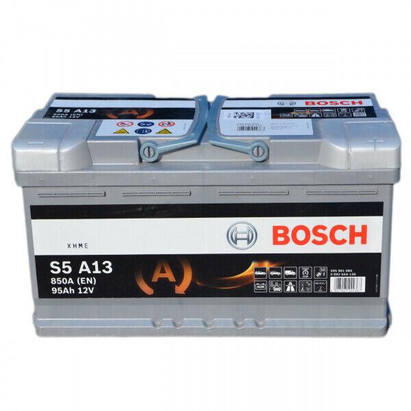 Batterie tourisme BOSCH Bosch Start & Stop S5A13 95Ah 850A