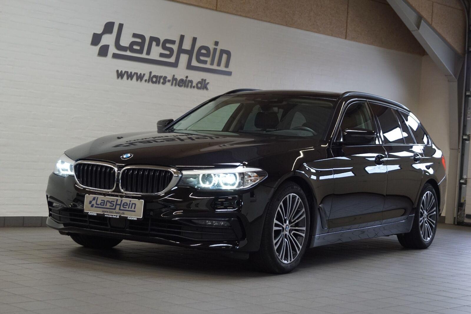 BMW 530d 3,0 Touring Sport Line aut. 5d - 519.800 kr.