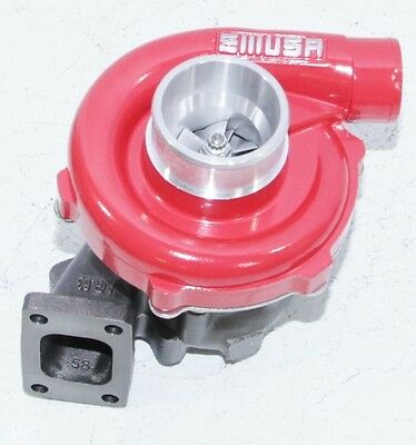 Red EMUSAT3/T4 Hybrid Turbo Charger .50 A/R Compressor .63 A/R Turbine Wheel
