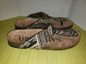 Sam And Libby Thong Slide Sandals Womens Size 6.5