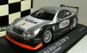 Minichamps-1-43-Scale-400-013193-Mercedes-Benz-CLK-DTM-2001-Hakkinen-Test-car