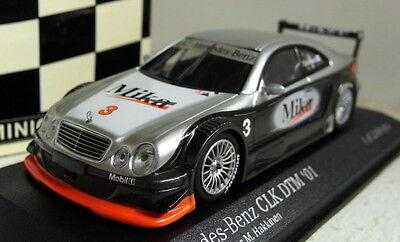 MINICHAMPS 400 013193 MERCEDES BENZ CLK COUPE DTM 2001 TEST CAR M HAKKINAN nd