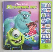 FACTORY SEALED DISNEY PIXAR MONSTERS INC PLAY A SOUND BOOK SULLEY MIKE BOO