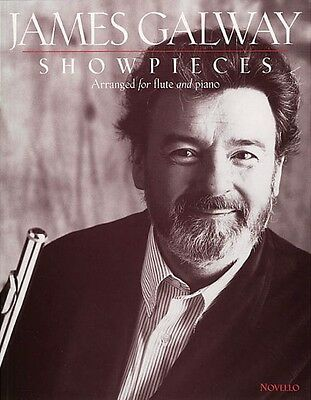 Instruction Books, Cds & Video Able James Galway Showpieces Flute Piccolo & Piano Accompaniment Book New 014029979 Long Performance Life