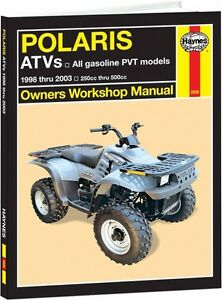 haynes service manual polaris xplorer 250 2000 2002 300 1998 99 rh ebay com 1998 polaris xplorer 400 4x4 repair manual 1998 Polaris 400 4x4
