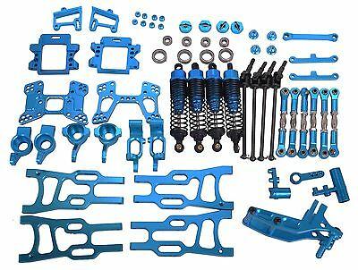 Upgrade Parts Package For HSP RC 1/10 Off-Road Buggy Electric / Nitro Car Blue