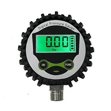 Digital Low Pressure Gauge With 14 Npt Bottom Connector And Rubber Protector