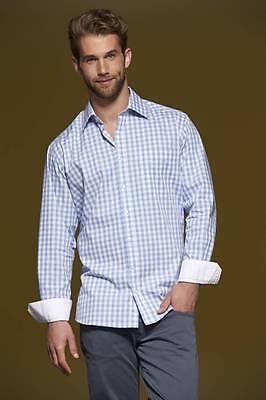 James+Nicholson Herren Hemd Karohemd Freizeithemd S M L XL XXL 3XL Bügelleicht