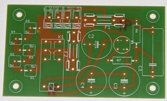 Einschaltstrombegrenzer Leiterplatte