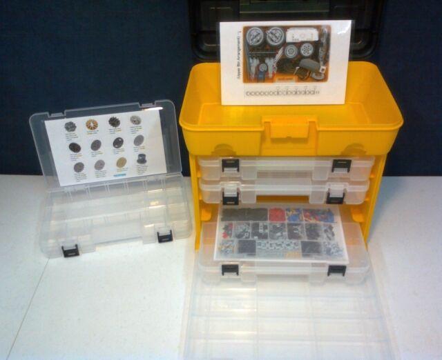 STORAGE System ORGANIZER Lego Education EV3 Expansion 45560 !! CORE 45544