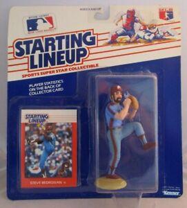 1988 STEVE BEDROSIAN - Starting Lineup Baseball Figure - PHILADELPHIA PHILLIES