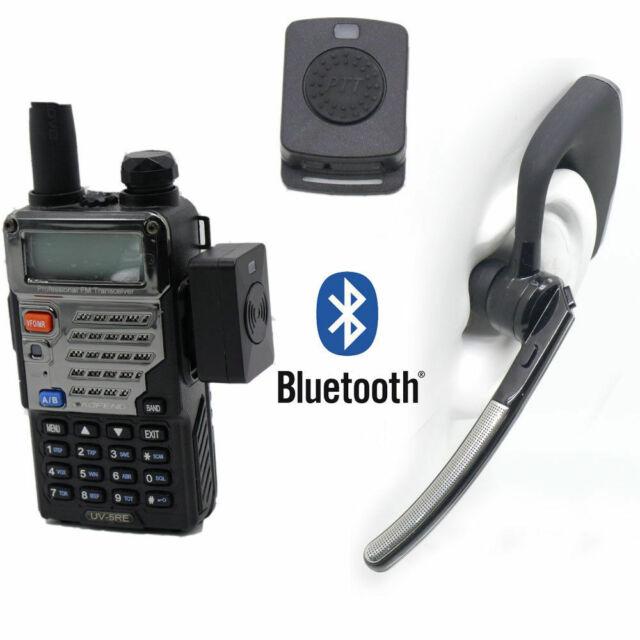 Bluetooth Wireless Adaptor Ptt Headset For Kenwood Tyt Baofeng Uv5r Radio T11p For Sale Online Ebay