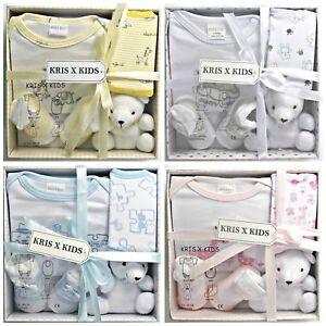 Newborn-Baby-Gift-Set-4-piece-100-Cotton-0-3-Months