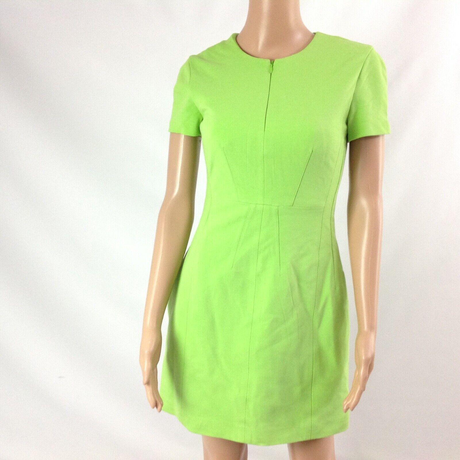Diana von Furstenberg Agatha Knit Suiting Lime Gr… - image 4