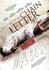 Chain Letter Unrated 2012 DVD WS