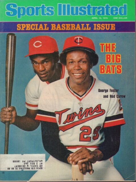 Sports Illustrated Magazine April 10 1978 Rod Carew George Foster 092817nonjhe