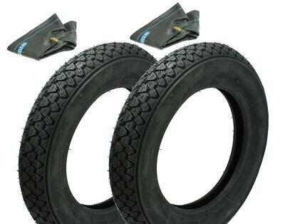 Gewidmet 2 Reifen Veerubber 3.00 X 10 Pas. F. Vespa 50 S N Sprinter Racer 90 Pk 50 80 125 Um Jeden Preis