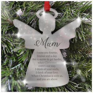 Personalizzata-ricordo-per-albero-di-Natale-Decorazioni-a-specchio-acrilico-Natale-Palline