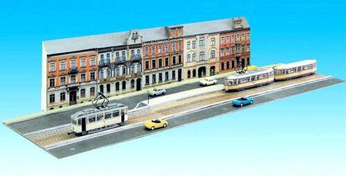 scala h0-1:87 CARTONCINO Kit senza veicoli Tram TRAM kulissenset
