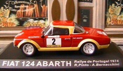 ALTAYA FIAT 124 ABARTH #2 PORTUGAL RALLY 1974 1//43