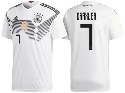 Deutschland WM 2018 Draxler 7 128 bis 3XL Trikot Adidas DFB 2018-2019 Home