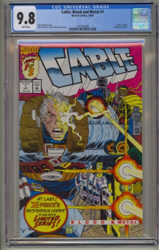 Cable Blood and Metal 1 CGC 9.8 VS Stryfe Domino Deadpool 2 Movie X-Men Marvel
