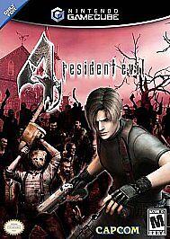 Resident Evil 4 Nintendo Gamecube Video Game 2 Discs With Case