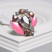 Kate Spade Frosty Floral Ring WBRU7070 Size 6 New with tag