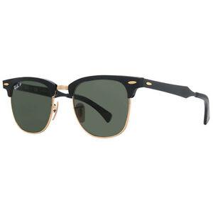 6fe9fb4e25 Ray-Ban Unisex Rb3507 Clubmaster M Polarized Sunglasses 51mm