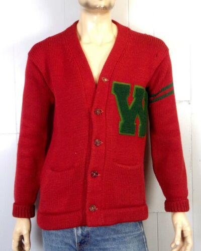 vtg 30s 1933-1935 NRA Label Letterman Varsity Swea