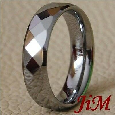 Tungsten Ring His & Her Wedding Band Jewelry Size 6-15