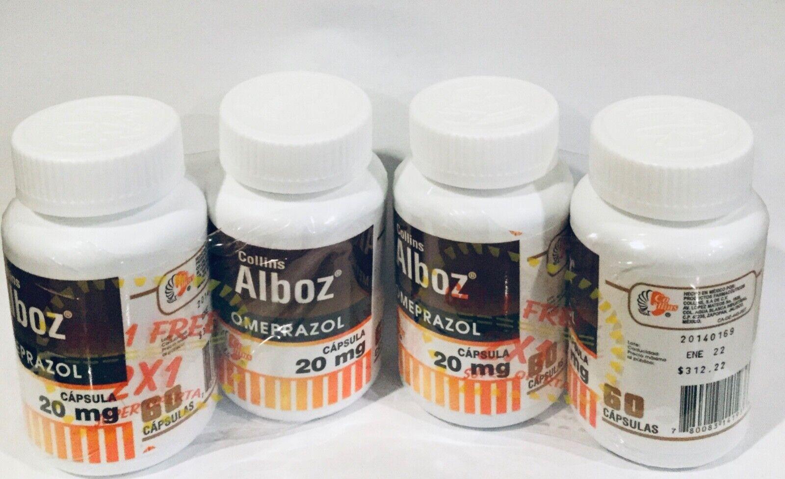 Omeprazole 20mg Heartburn Acid Reflux 12bottles 60 Capsules each ( Prilosec ) 1