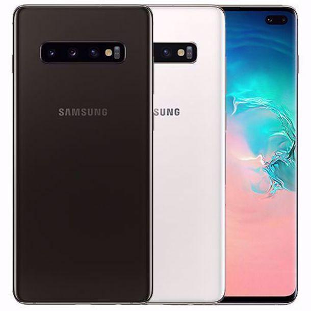 Samsung Galaxy S10 SM-G973U1 - 128GB - Black ( Unlocked) A Very Good