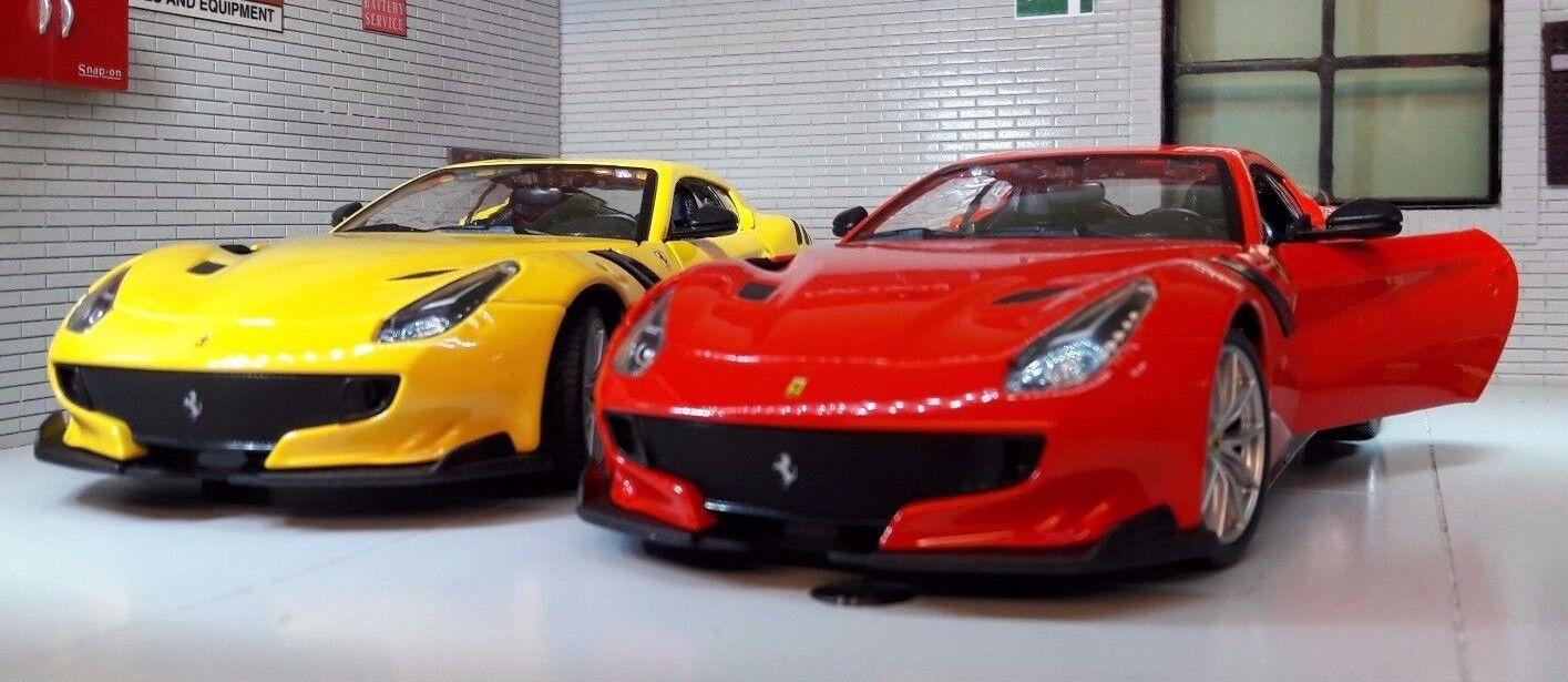 2017 Ferrari F12 F12tdf F12berlinetta 1 24 Skala-Modelle Detaillierte Modell