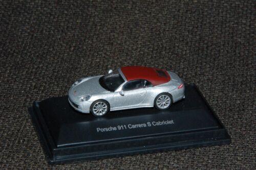 Schuco Porsche 911 Carrera S Cabriolet M1:87 PC