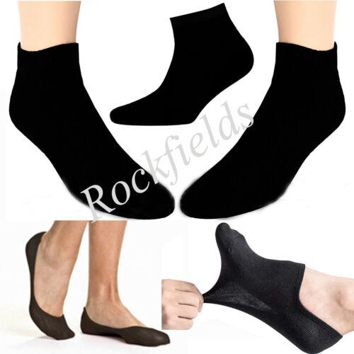 Women Men Invisible Socks Trainer White Black Ankle Liner Cotton Sport wholesale