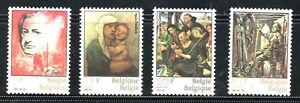 SELLOS-PNTURA-BELGICA-1982-2060-63-PINTURAS-DIVERSAS-4v