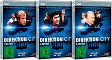 Gesamtedition - Direktion City / kompl. 33-teilige Serie auf 9 DVDs Pidax