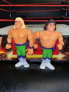 WWF-WWE-Hasbro-The-Rockers-Marty-Jannetty-Shawn-Michaels-Wrestling-Figures