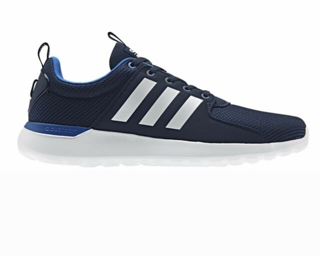 detailed look a5b4d 7e32d Adidas Cloudfoam CF Light Racer DB9821 Mens Trainers Blue