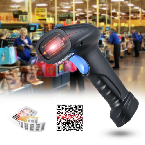 Aibecy 2D 1D USB Barcode Scanner Lesegerät Handscanner for POS PC Android iOS
