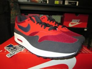 low priced e3666 81c5b Image is loading SALE-NIKE-AIR-MAX-1-RED-CRUSH-MIDNIGHT-